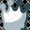 Queen White Icon