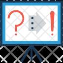 Question Error Arrow Icon