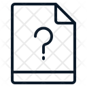 File Question Unknown Icon