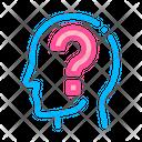 Question Mark Man Icon