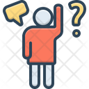 Question Query Interpellation Icon
