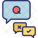Question Answer Message Icon