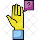 Question Hand Ask Icon