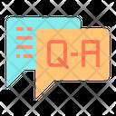 Questionnaire Qa Query Icon