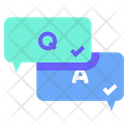 Q And A Question And Answer Online Exam Icon