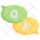 Question And Answer Forum Discussion E Learning Icon