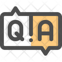 Faq Question Answers Icon