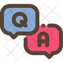 Question Answer Chat Icon