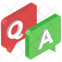 Faq Communication Questions Answers Inquiry Icon