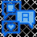 Customer Service Speech Bubble Support Icon