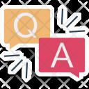 Question Answer Faq Icon