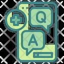 Question Answer Faq Conversation Icon