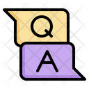 Qa Question Answer Icon