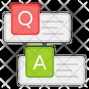 Question Answer Qa Form Discussion Icon