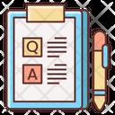 Iqa Survey Icon