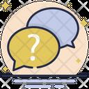 Question Bubble Icon