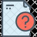 Question File Paper Icon