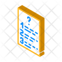 Question List Icon
