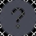 Question Mark Symbol Icon