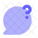 Question-mark-chat-bubble Icon