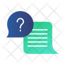 Qa Question Answer Icon