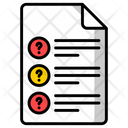 Question Paper Icon
