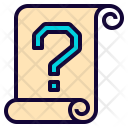 Paper Help Roll Icon