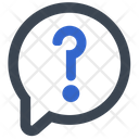 Inquiry Question Customer Service Icon