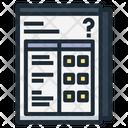 Questionnaire Question Survey Icon