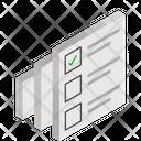 Questionnaire Survey Form Icon