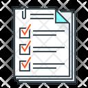 Questionnaire Question Form Icon