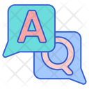 Questions And Answers Conversation Information Icon