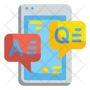 Questions Answer Faq Chat Icon