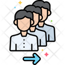 Queue Here Icon