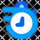 Quick Fast Clock Icon