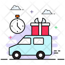Quick Delivery On Time Delivery Delivery Time Icon