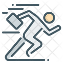 Run Rush Runner Icon