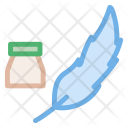 Quill Write Writer Icon