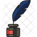 Quill Feather Bird Feather Icon