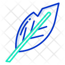 Quill Farther Writing Icon