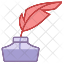 Quill Ink Feather Icon