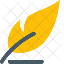 Feather Quill Pen Icon