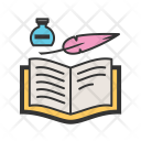 Quill Book Icon