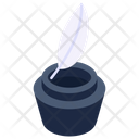 Quill Pen Quill Ink Inkpot Icon