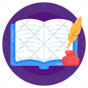 Quill Writing Icon