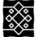 Quilt Blanket Cover Icon