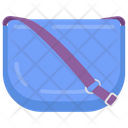 Quilted Bag Fashion Accessory Icon