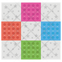 Quilting Decorative Patchwork Mat Cutting Icon