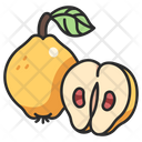 Fruit Vegan Quince Icon