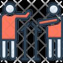 Quit Leave Debate Icon